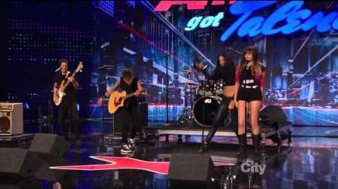 212 Green - America's Got Talent 2013 Season 8 Week 6 Auditions