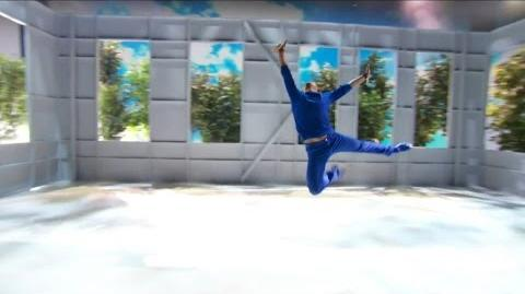 America's Got Talent 2015 S10E19 Live Shows - Benjamin Yonattan Blind Dancer