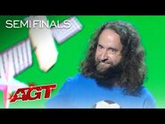 Josh Blue Tells FUNNY Stories About Competing at The Paralympics - America's Got Talent 2021