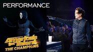 SHIN LIM Is Magician X?! Marc Spelmann Blows Minds With Magic! - America's Got Talent The Champions