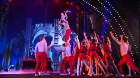 America's Got Talent 2014 AcroArmy & Travis Barker Grand Final