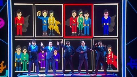 America's Got Talent 2015 S10E17 Live Shows - Animation Crew Pop Dancer