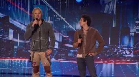 KriStef Brothers - America's Got Talent 2013 Season 8 Week 4 Auditions