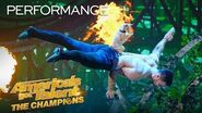 Christian & Percy Perform The CUTEST Dog Act You've Ever Seen! - America's Got Talent The Champions