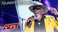 """65-Year-Old Veteran Robert Finley STUNS With Soulful """"Starting to See"""" - America's Got Talent 2019"""