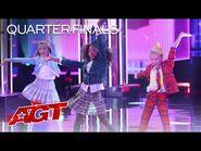 Beyond Belief Dance Company Performs Fabulous Choreo by Alyssa Edwards - America's Got Talent 2021