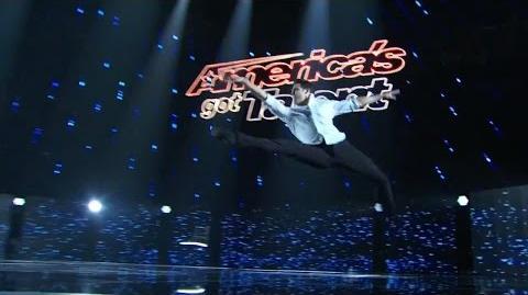 America's Got Talent 2015 S10E13 Judge Cuts - Aaron Smyth Classical Dancer