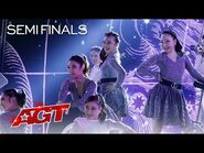 """UniCircle Flow Delivers a STUNNING Performance to """"Physical"""" by Dua Lipa - America's Got Talent 2021"""