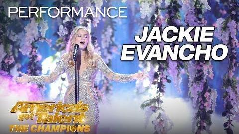 """Jackie Evancho Performs """"Music of the Night"""" Flawlessly - America's Got Talent The Champions"""