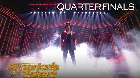 Shin Lim Incredible Magician Stuns With Card Magic - America's Got Talent 2018