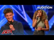 """They Call Her """"Little Beyoncé""""! Savannah Robertson and Zac Taylor Audition on America's Got Talent"""