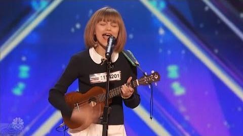 America's Got Talent 2016 Grace VanderWaal 12 Y.O