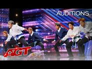 Early Release- South Korean Dance Group Dokteuk Crew Dances to Blackpink - America's Got Talent 2021