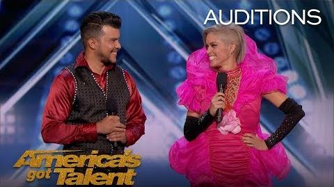 Sixto & Lucia Quick Change Duo Switch Outfits At Impressive Speeds - America's Got Talent 2018