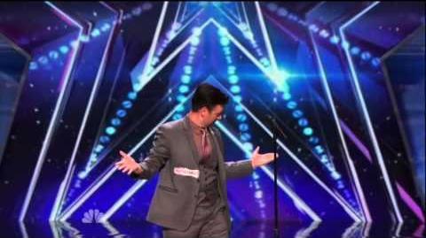 America's Got Talent 2015 Derek Hughes Auditions 2