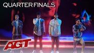 """Beatboxers Berywam Perform EPIC """"Old Down Road"""" And """"O Fortuna"""" Remix - America's Got Talent 2019"""
