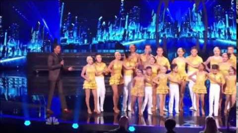 America's Got Talent 2014 Baila Conmigo Quarterfinal 1