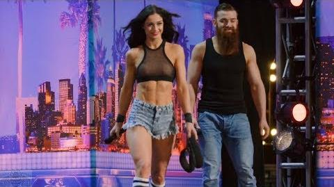 America's Got Talent 2017 Billy & Emily England Bro Sis Roller Daredevils Full Audition S12E02