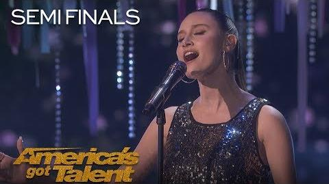 "Makayla Phillips Teen Singer Performs Rendition Of ""Who U Are"" - America's Got Talent 2018"