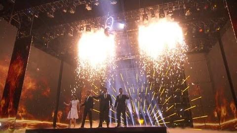 America's Got Talent 2016 Finals Resullts Sofie, Laura & Viktor Special Performance S11E23