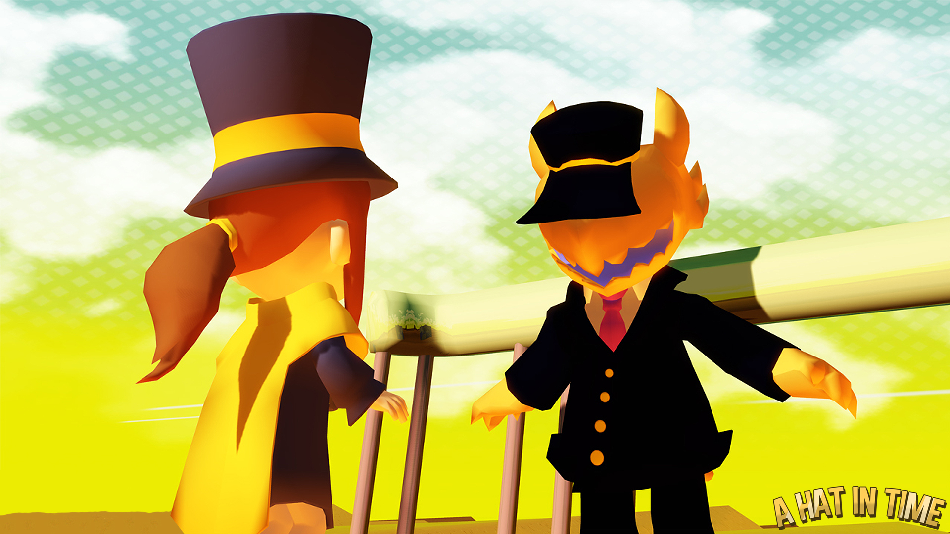 Hat in time conductor boss