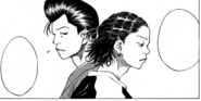 Yasuhara apologizing to Kenji for kicking his basketball