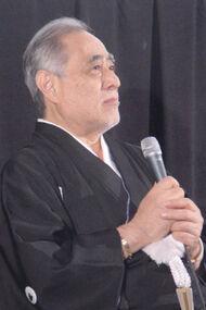 津川雅彦(2005年10月22日、東京国際映画祭にて)