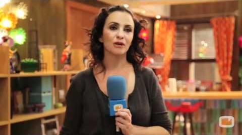 Entrevista a Melanie Olivares de 'Aída'