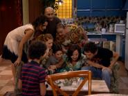 Paz, Chema, Eugenia, Lorena, Fidel, Jonathan, Aída y Luisma