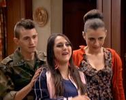 Macu, Mecos y Soraya en el episodio 200