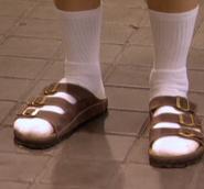 Los pies de Brandon