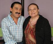 Eugenia y Mauricio Colmenero