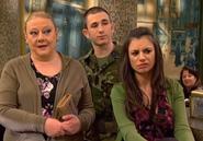 Eugenia, Jonathan y Soraya