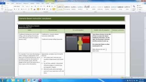 3 ways to storyboard your e-learning course