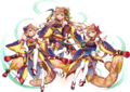 Canaria Sisters AA AW Render
