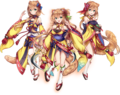 Canaria Sisters AA Render