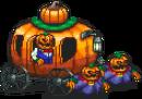 Pumpkin Carriage Sprite