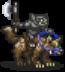 Enemies/Black Goblin Wolf Rider