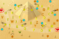 Treasure Sleeping in the Desert map