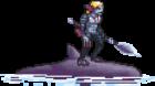Enemies/Black Merman Shark Rider
