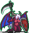 Lady Demon Death Sprite