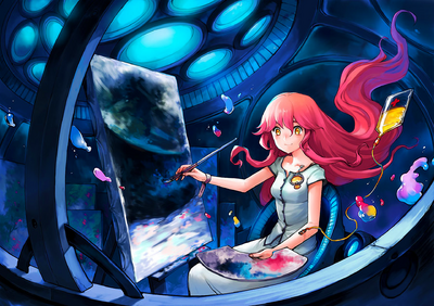 Asuka111 - Painting from the moon (29303035) .png