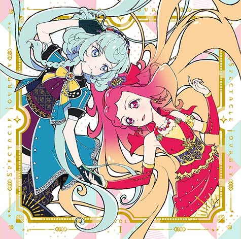 "TV Anime/Data Carddass ""Aikatsu Friends!"" 2nd Season Insert Song Single 1 - SPECTACLE JOURNEY Vol.1"