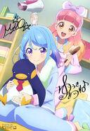 Aikatsu Friends! Poster Animedia July 2018