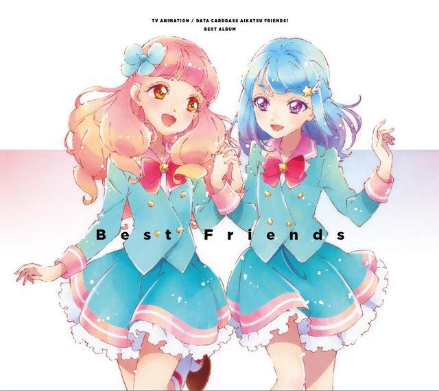 """TV Anime/Data Carddass """"Aikatsu Friends!"""" Best Album - Best Friends"""