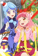 Aikatsu Friends! Poster Animedia November 2018