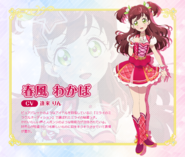 Wakaba Profile S2 TV Tokyo