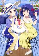 Aikatsu Friends! Poster Animedia July 2019