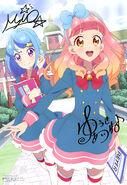 Aikatsu Friends! Poster Animedia April 2018