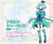 Alicia Profile S2 TV Tokyo